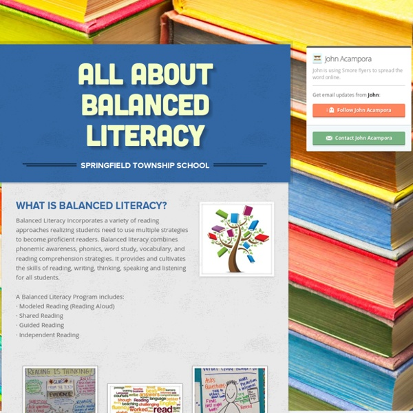 All About Balanced Literacy