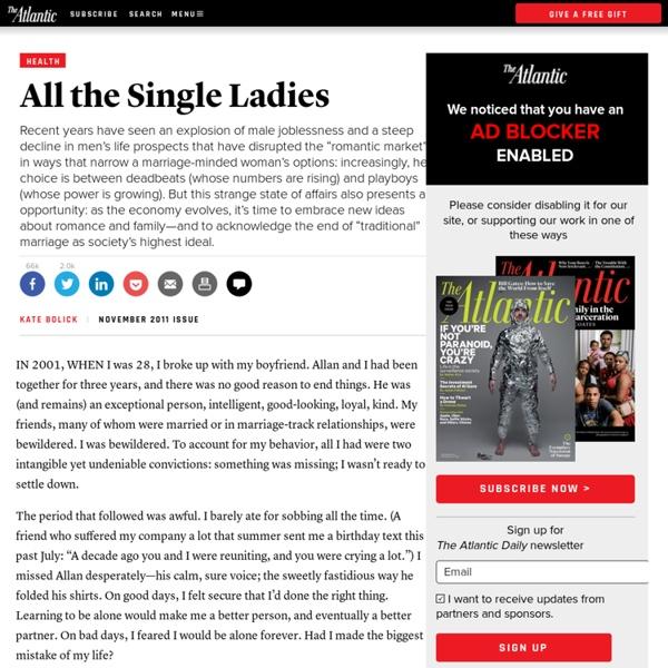 Magazine - All the Single Ladies