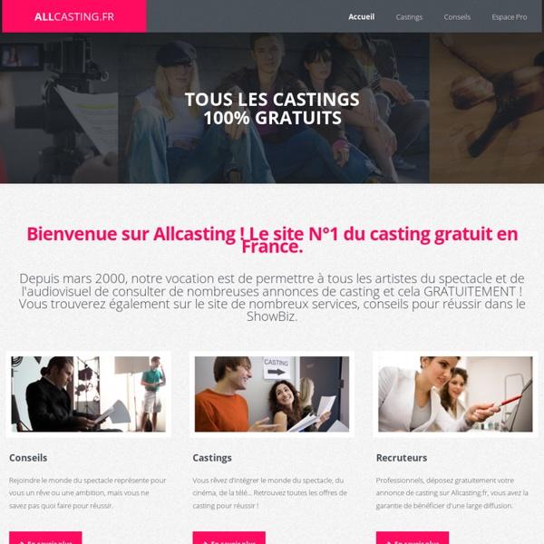 Allcasting.fr N°1 du casting gratuit en france !