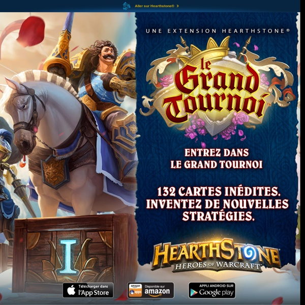 Hearthstone: Heroes of Warcraft – site officiel
