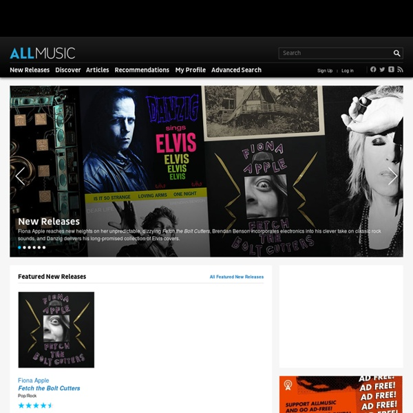 Music Search, Recommendations, Videos and Reviews