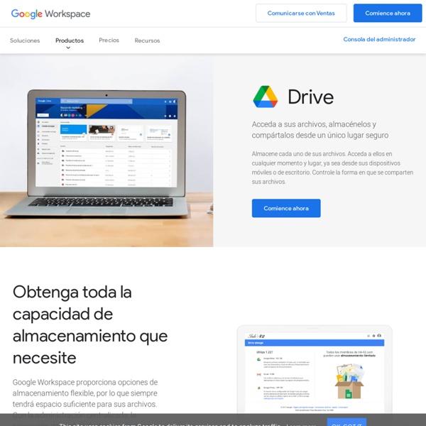 GoogleDrive: almacenamiento de archivos en línea para empresas