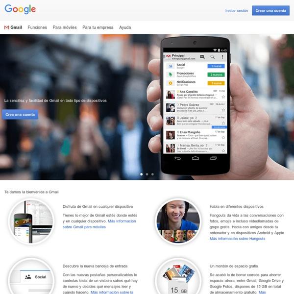 Gmail: espacio de almacenamiento y correo gratuitos de Google