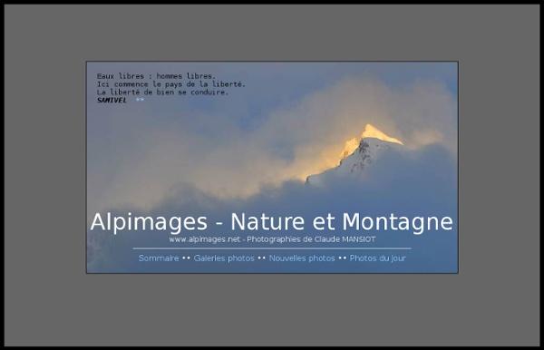 Alpimages, Photos de montagne - Photos de nature