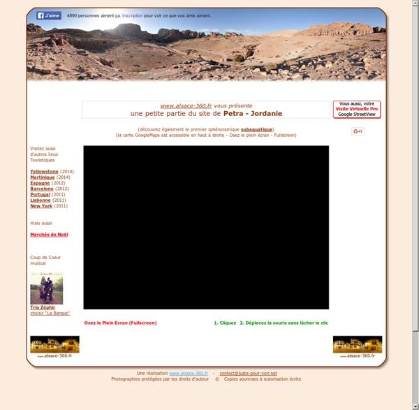 Petra - Visite sphénoramique