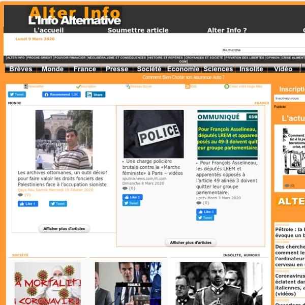 Alterinfonet.org Agence de presse associative