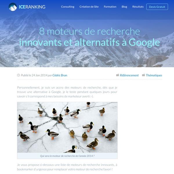 8 moteurs de recherche innovants et alternatifs à Google