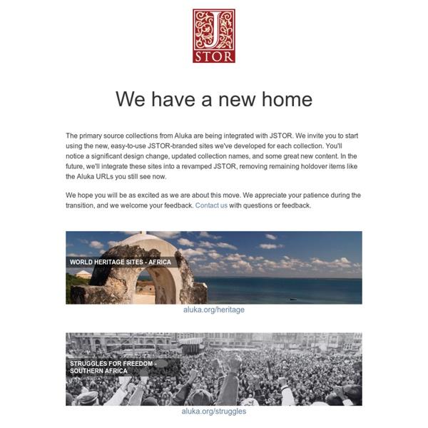 Aluka - Home Page