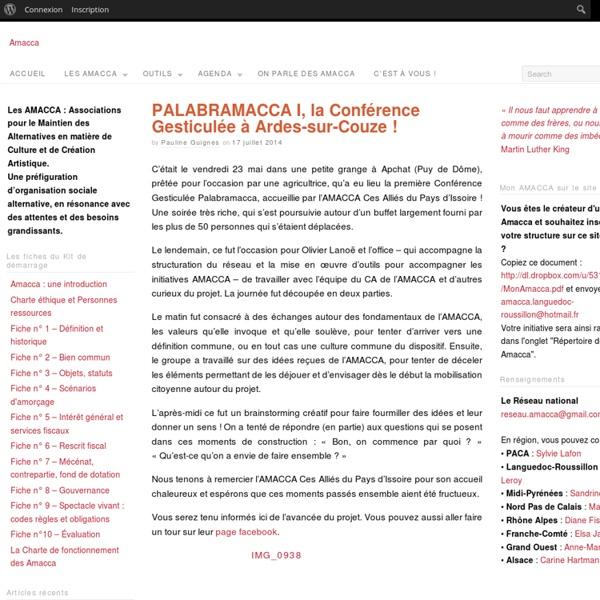 Un site utilisant Réseau Culture 21