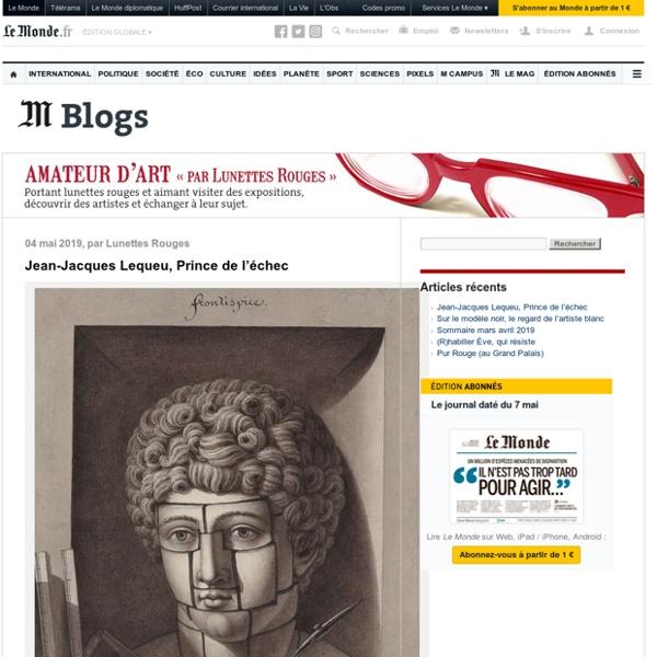 Amateur d'art - Blog LeMonde.fr