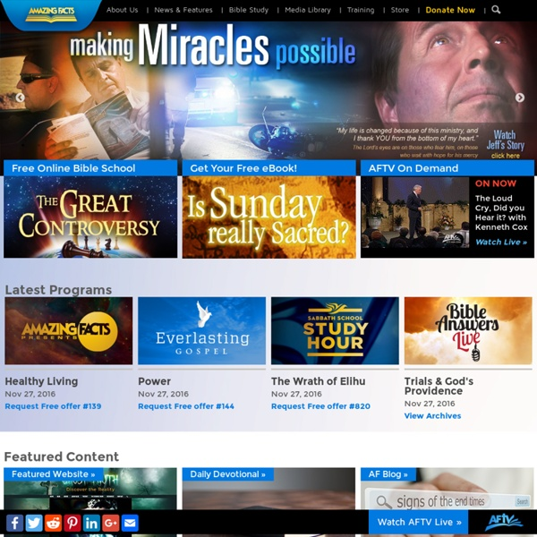 Amazing Facts - Christian Media Ministry