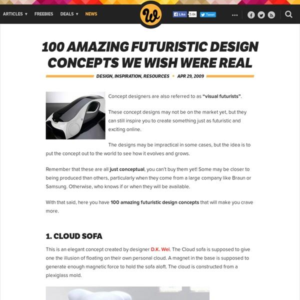 100 Amazing Futuristic Design Concepts We Wish Were Real