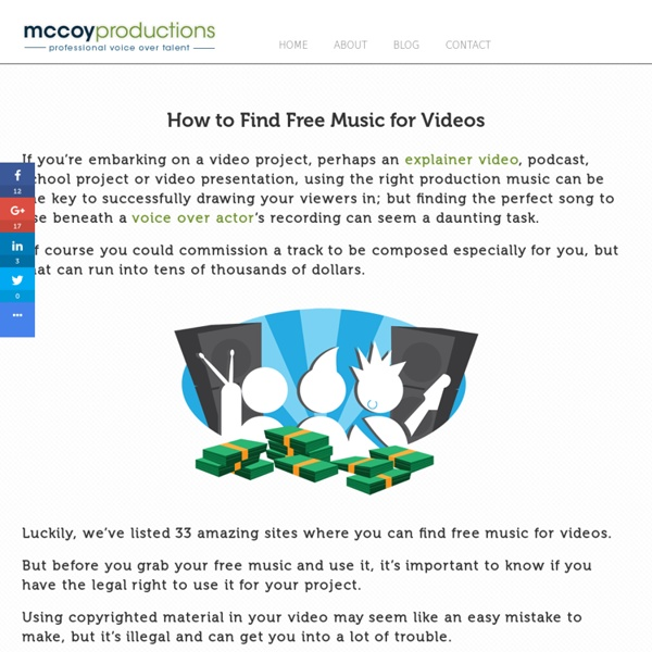 31 Sites with Free Music for Videos