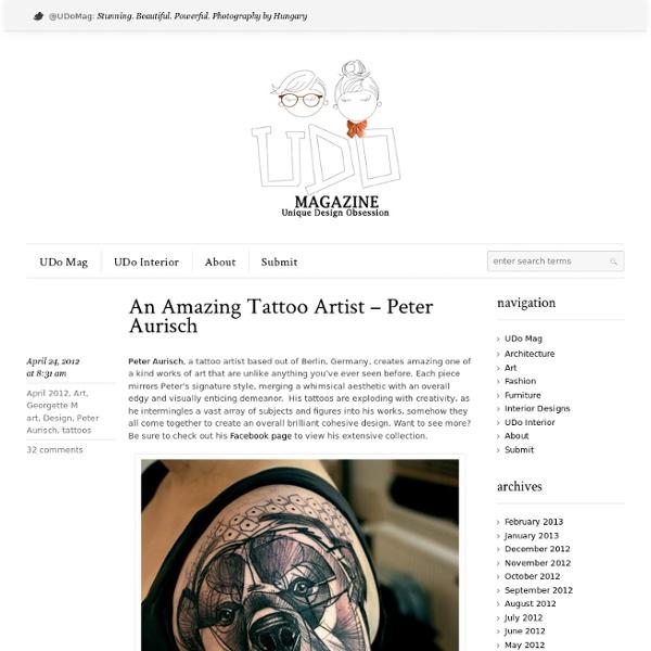 Peter Aursich - An Amazing Tattoo Artist