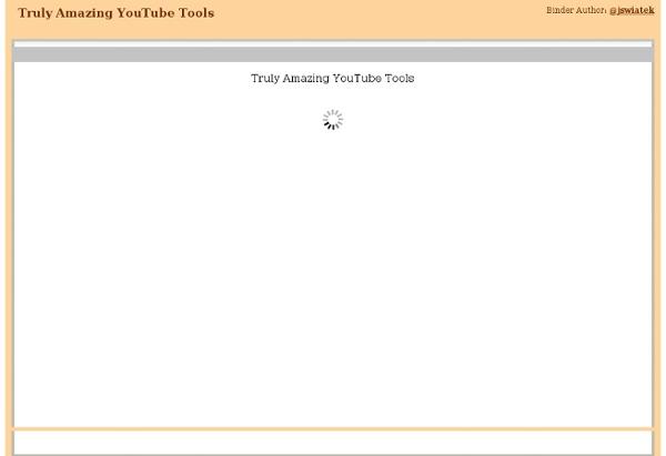 Truly Amazing YouTube Tools