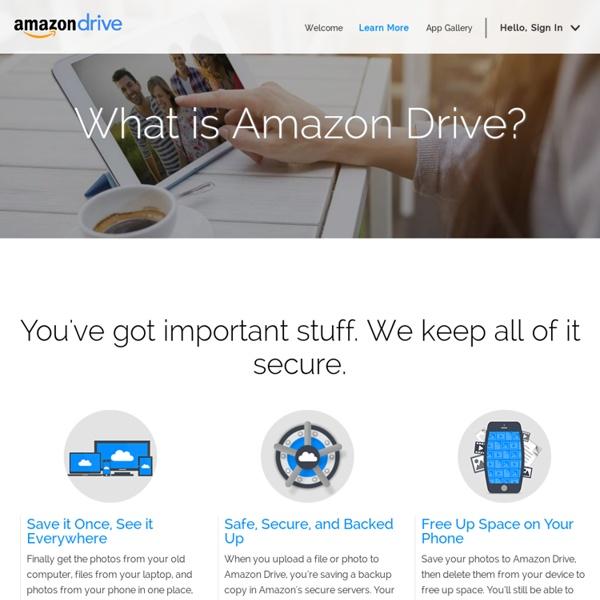 Amazon Cloud Drive 5 GB Free
