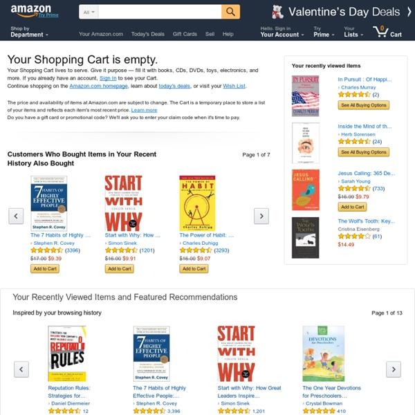 Amazon.com Shopping Cart