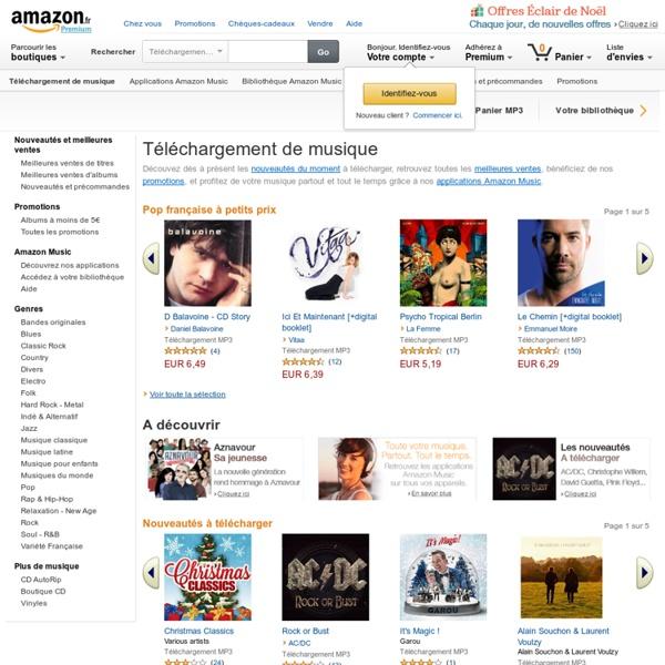 Amazon MP3 et Cloud Player