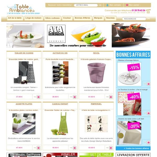 Des idées, des saveurs : TableetAmbiance.fr