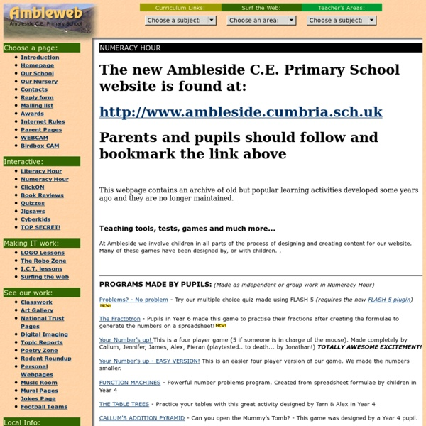 Ambleside C.E. Primary School