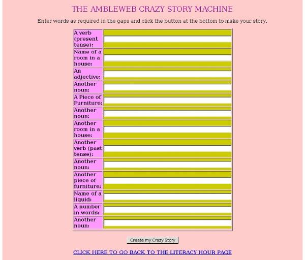 Ambleweb - Crazy Story Maker