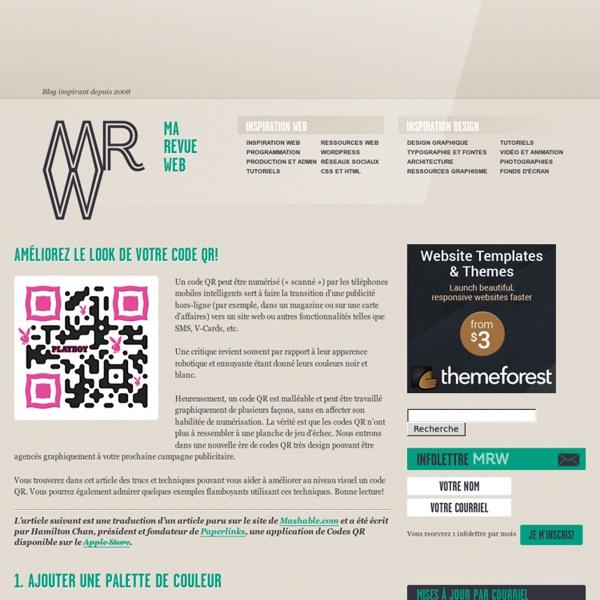 Les Codes QR - Trucs et Astuces pour design personnalisés