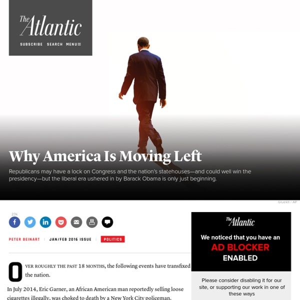 America Is Becoming More Liberal