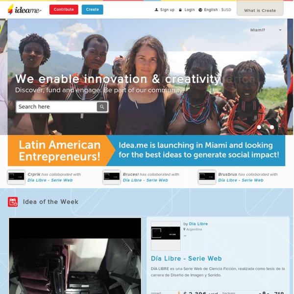 Ideame - La plataforma latina de financiamiento colectivo