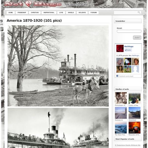 Photographs of America (1870-1920)