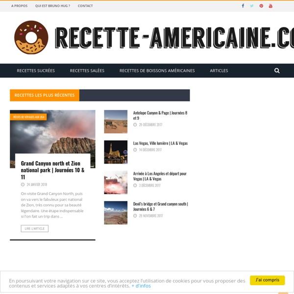 Recette américaine - Recettes de cuisines américaines