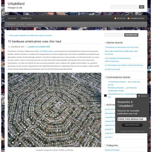 10 banlieues américaines vues d'en haut