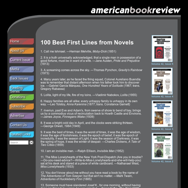 American Book Review