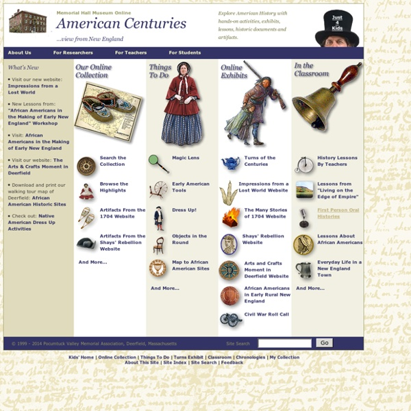 American Centuries: History and Art from New England