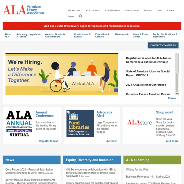 Home - American Library Association
