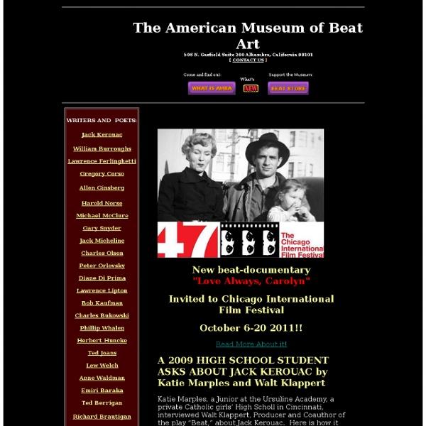 AMERICAN MUSEUM OF BEAT ART