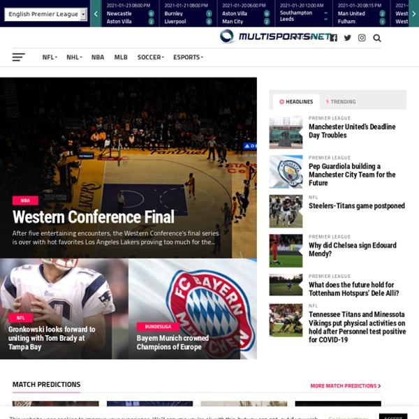 Multi Sports Net offers American Sports News, Results and Schedules