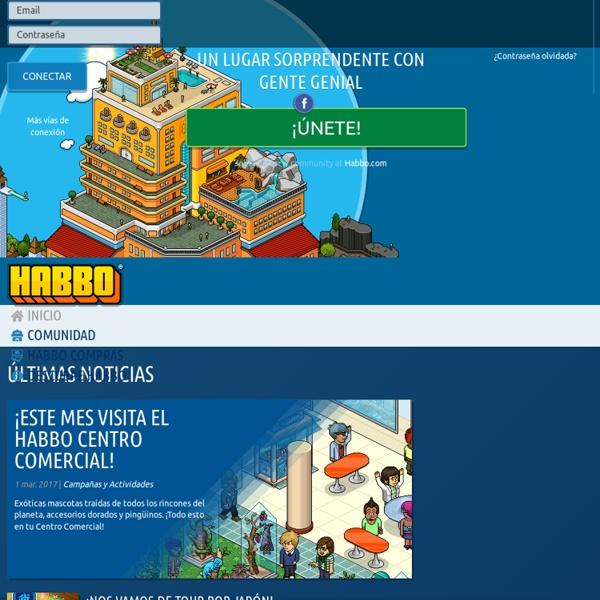 Habbo: Reserva suite gratis en el mayor Hotel virtual. Queda con tus viej@s amig@s, haz nuev@s, juega, chatea, crea tu avatar, tus habitaciones y más aún...