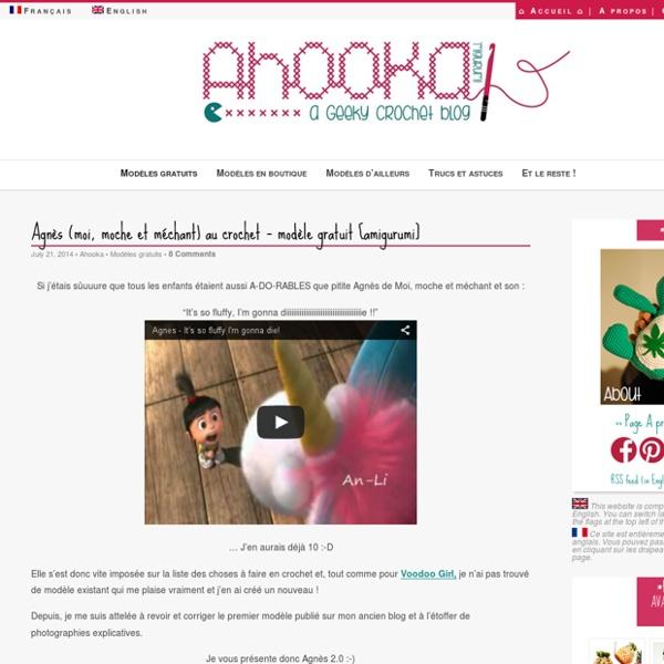 Agnès (moi, moche et méchant) au crochet – modèle gratuit [amigurumi]