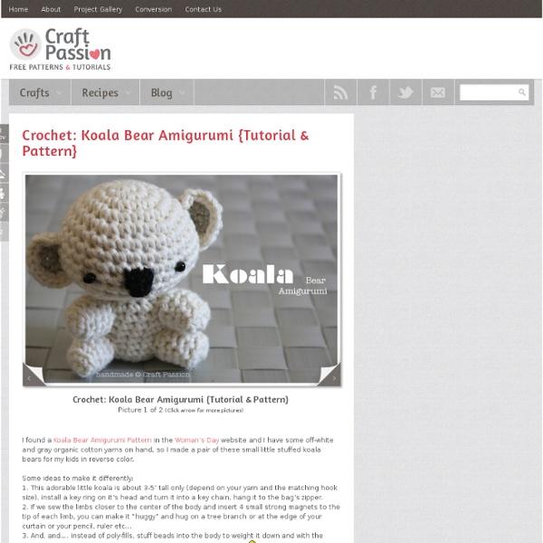 Tuto amigurumi Koala au crochet spécial gaucher - YouTube | 600x600