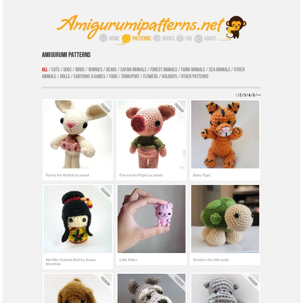 Amigurumi Patterns Free Download : Download Free Amigurumi Patterns Pearltrees