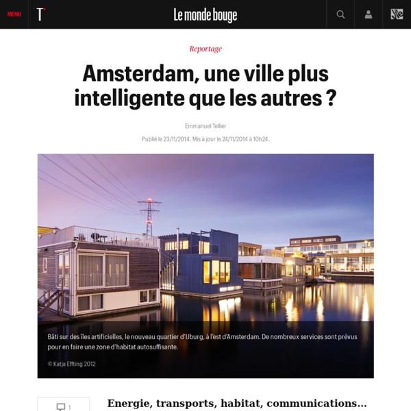 Amsterdam, une ville plus intelligente que les autres ?
