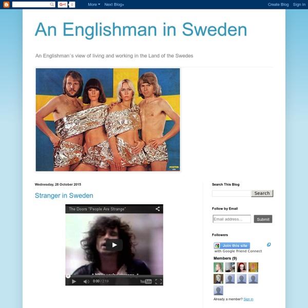 An Englishman in Sweden