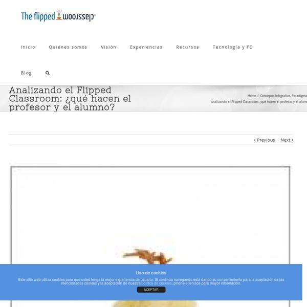 Analizando el Flipped Classroom: ¿qué hacen el profesor y el alumno?