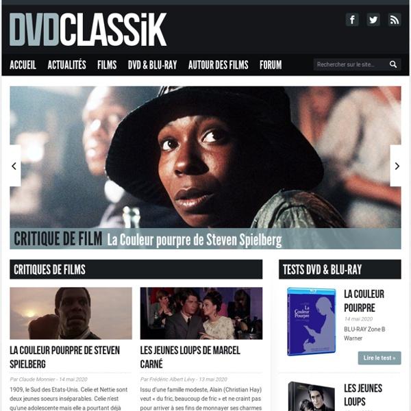 Dvdclassik - Analyse des classiques du cinéma et de leur édition