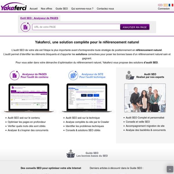 Audit SEO: Analyse de site pour audit de référencement naturel