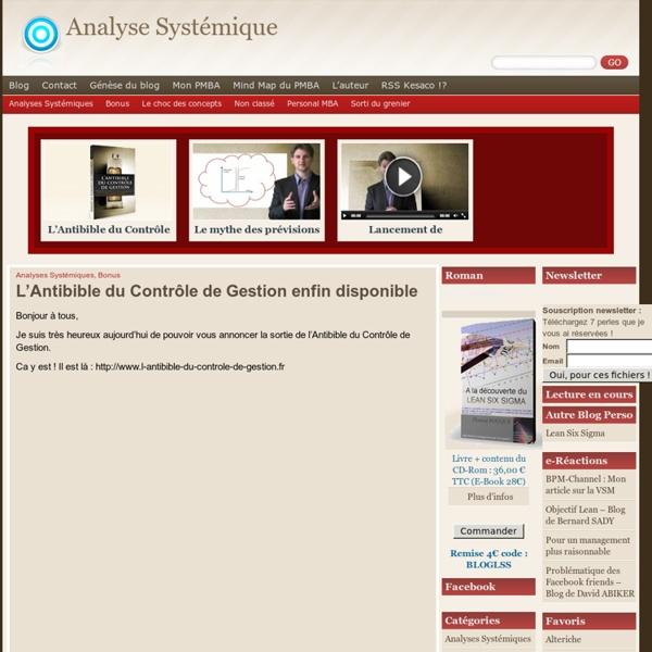 Analyse Systémique