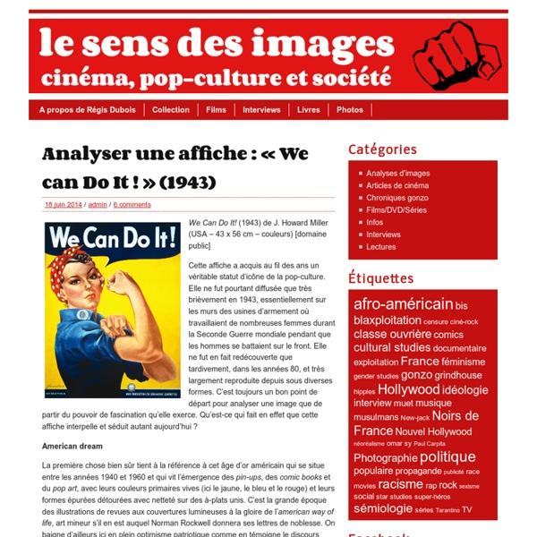 Le sens des images » Analyser une affiche : «We can Do It !» (1943)