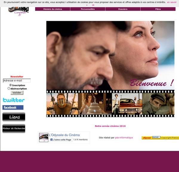 L'odyssée du cinéma : analyses et critiques de films, biographie et photos du monde du cinéma. Histoire du cinéma
