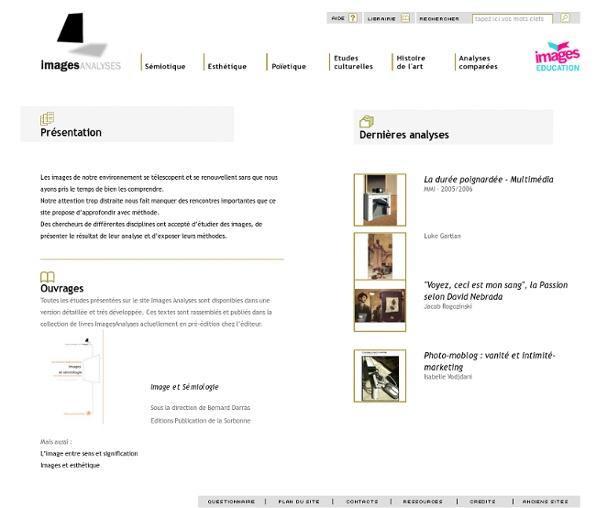 Images Analyses : pédagogie et éducation à l'image