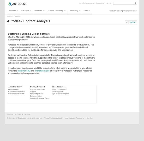 Autodesk Ecotect